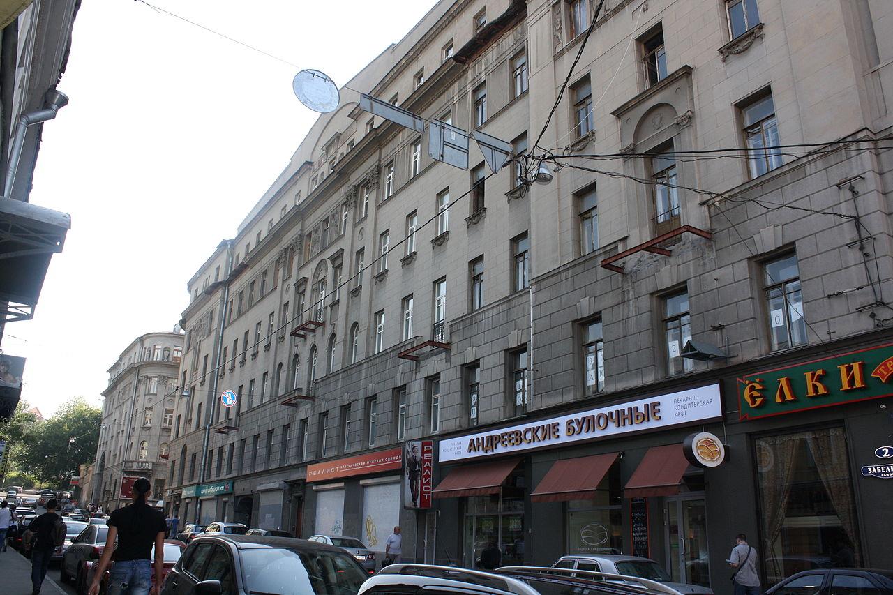 Улица Забелина от Солянки, Галерея на Солянке