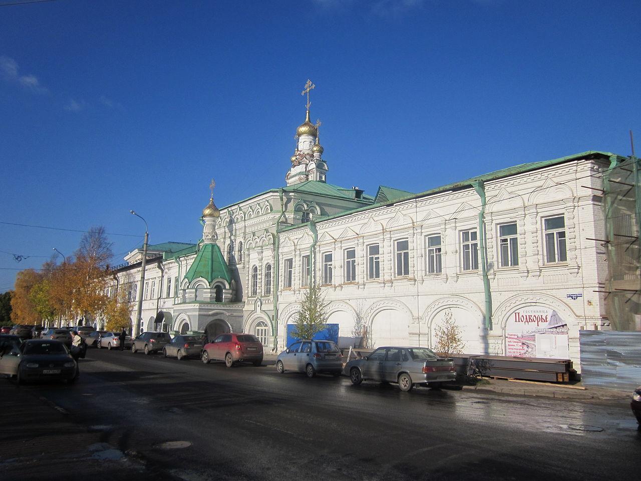 Главный корпус с церковью Соловецкого кремля