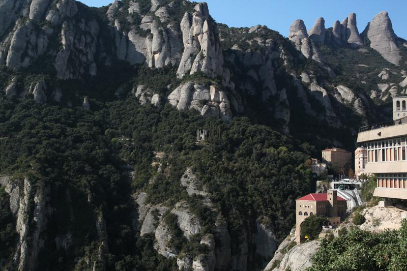 Горы, Монсеррат, Испания