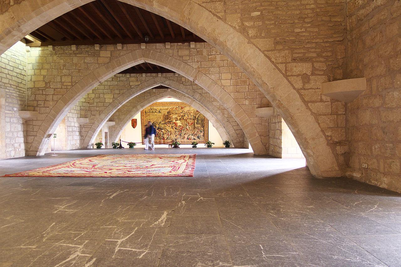 Дворец Альмудайна, жилые помещения