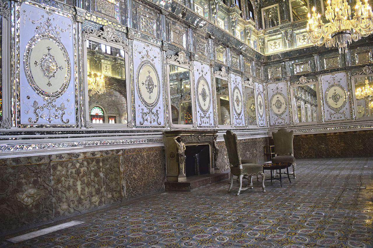 Дворец Голестан, интерьер