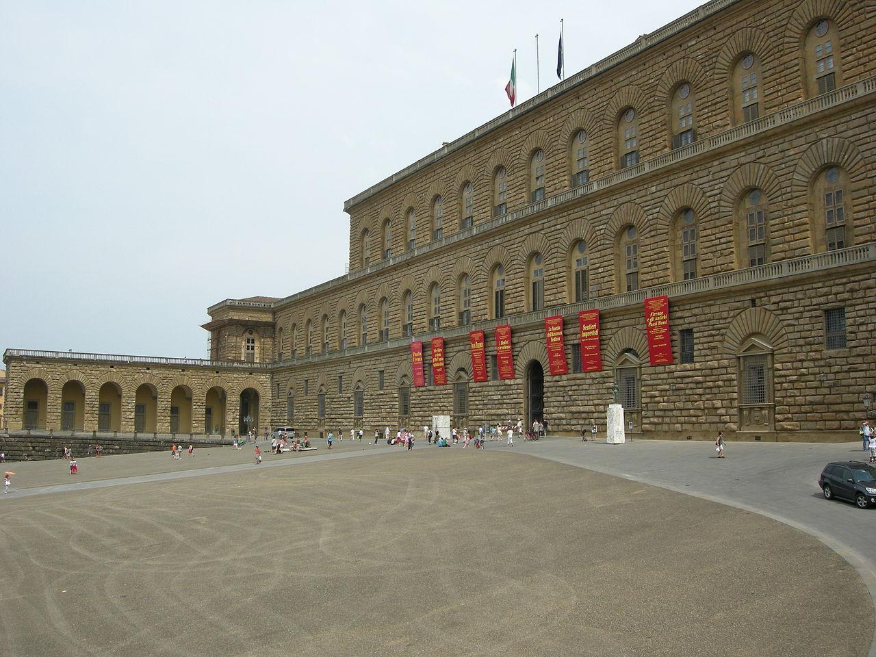 Палаццо Питти во Флоренции - история фото описание время работы карта