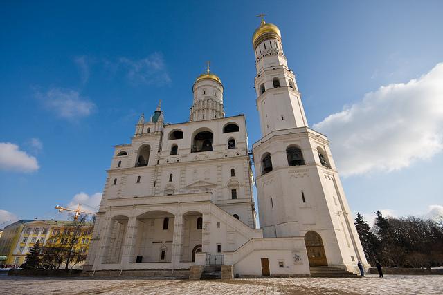 Колокольня Ивана Великого в Моске