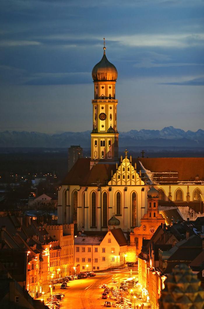 Церковь Святого Ульриха в Аугсбурге, Бавария