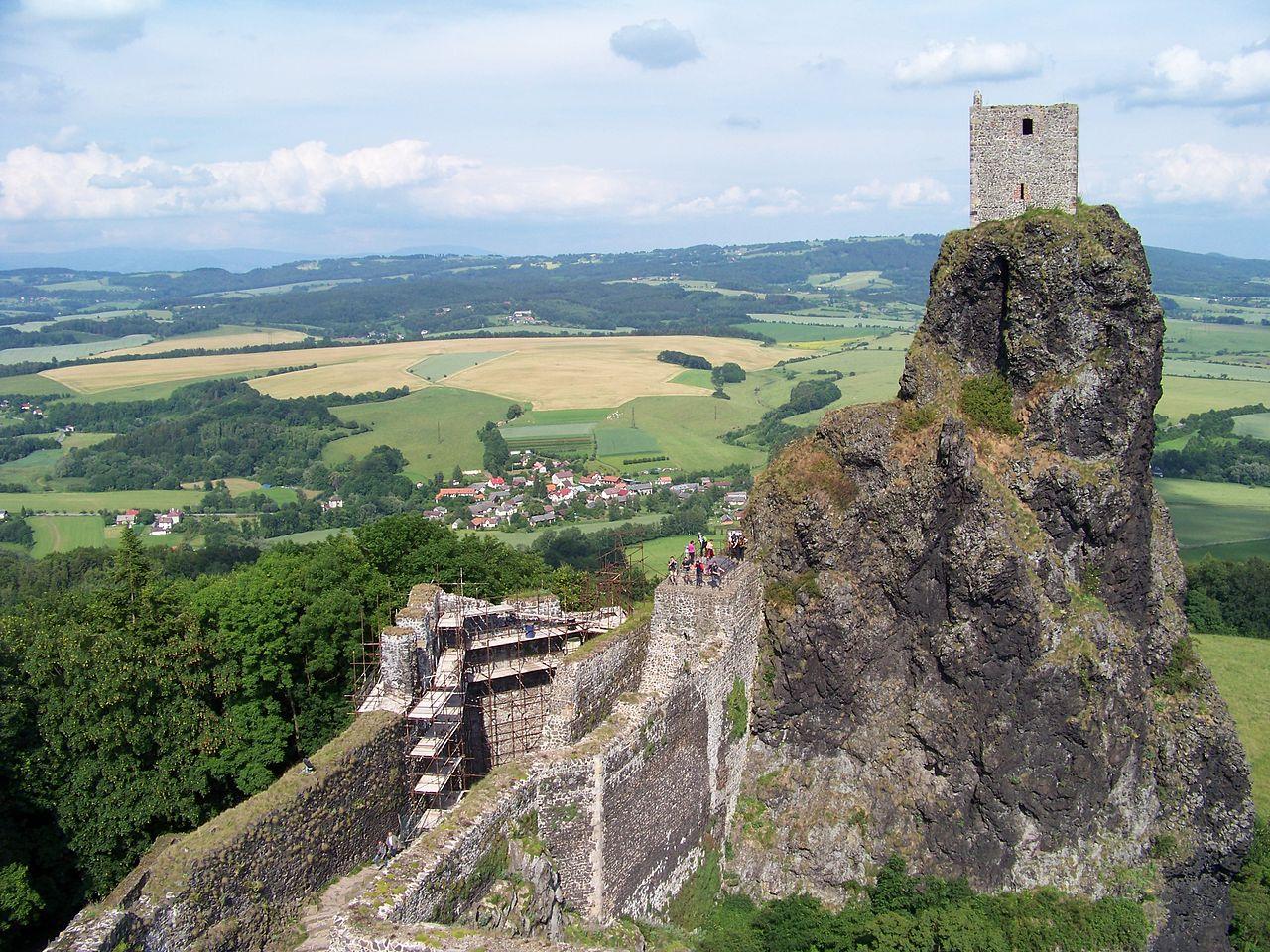 Чешский рай, крепость Троски