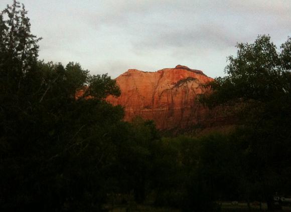 Вид на гору Сион