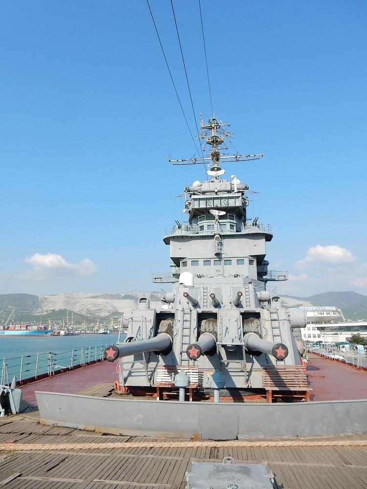 На палубе Музея-крейсера