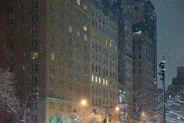 Пятая авеню зимой, Нью-Йорк