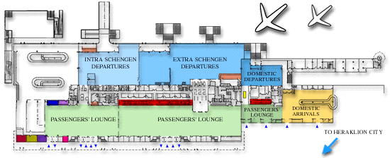 Схема пассажирского терминала аэропорта Ираклиона.png