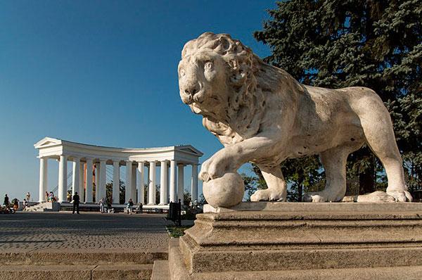 Колонада бельведера, Воронцовский дворец, Одесса