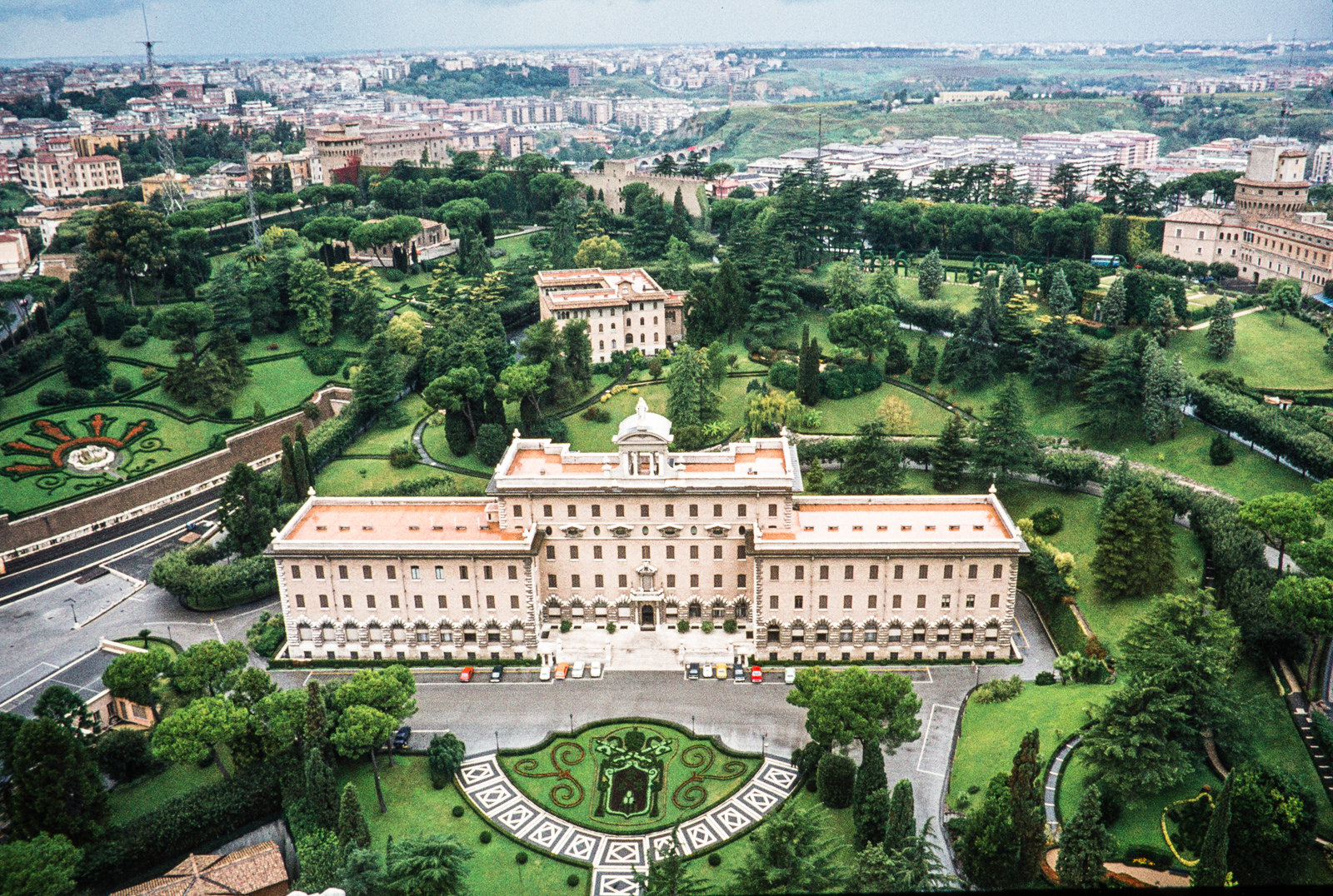 Сады Ватикана на Ватиканском холме