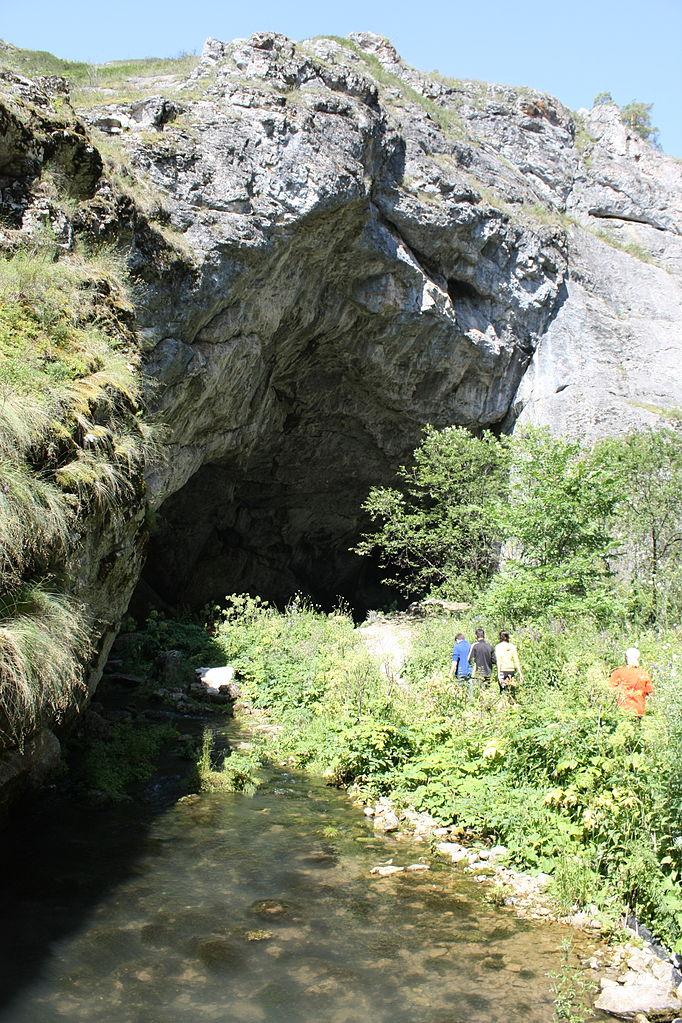 Шульган-Таш, вход в пещеру