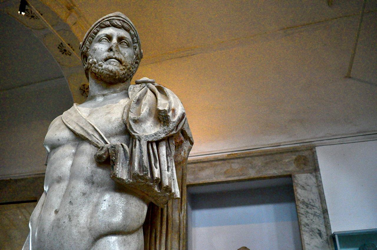 Музей Бардо, император Адриан