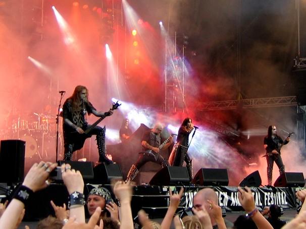 Выступление группы на фестивале Tuska Open Air