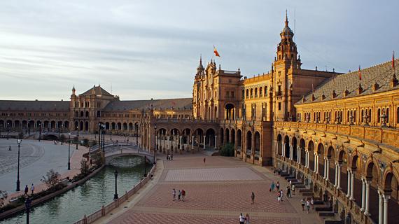 Город Севилья в Испании