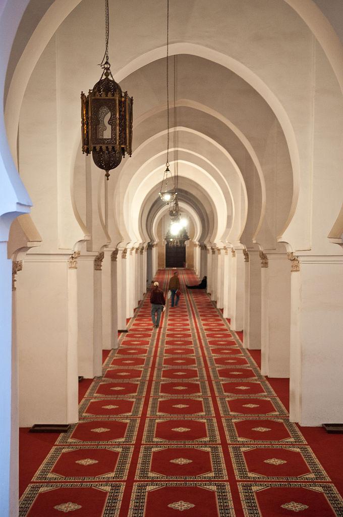 Мечеть Кутубия, интерьер