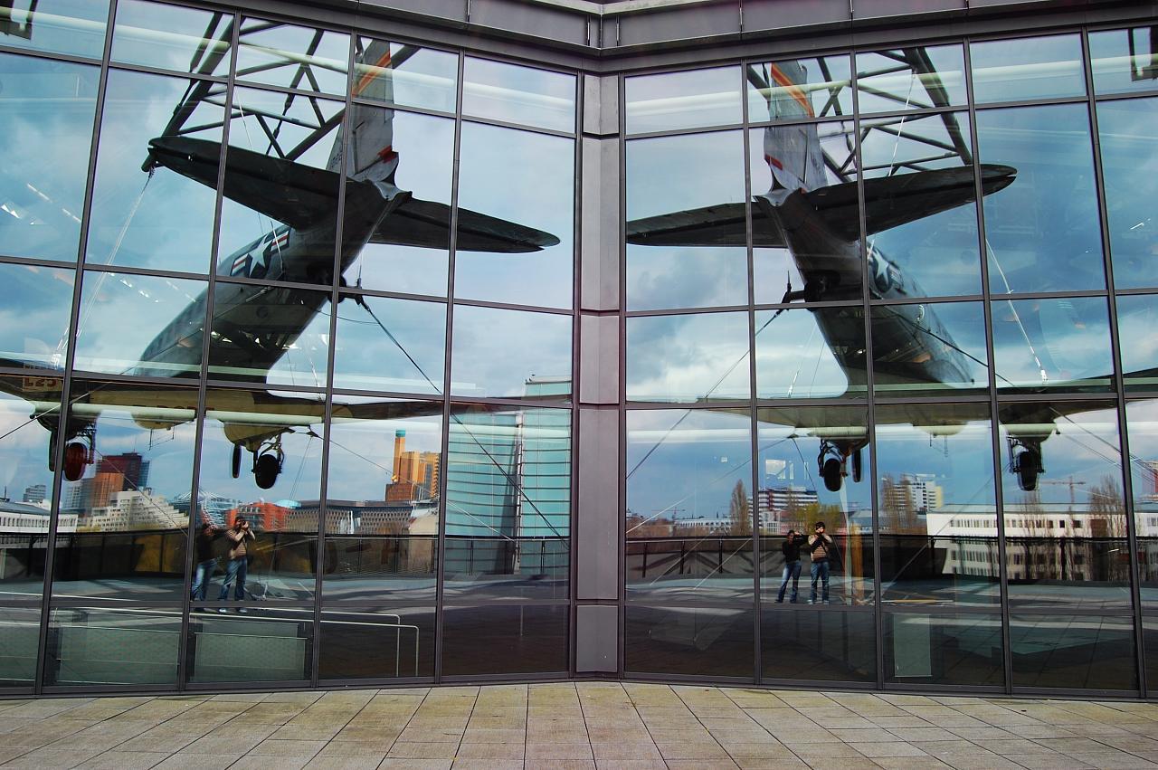 Немецкий технический музей в Берлине, на крыше
