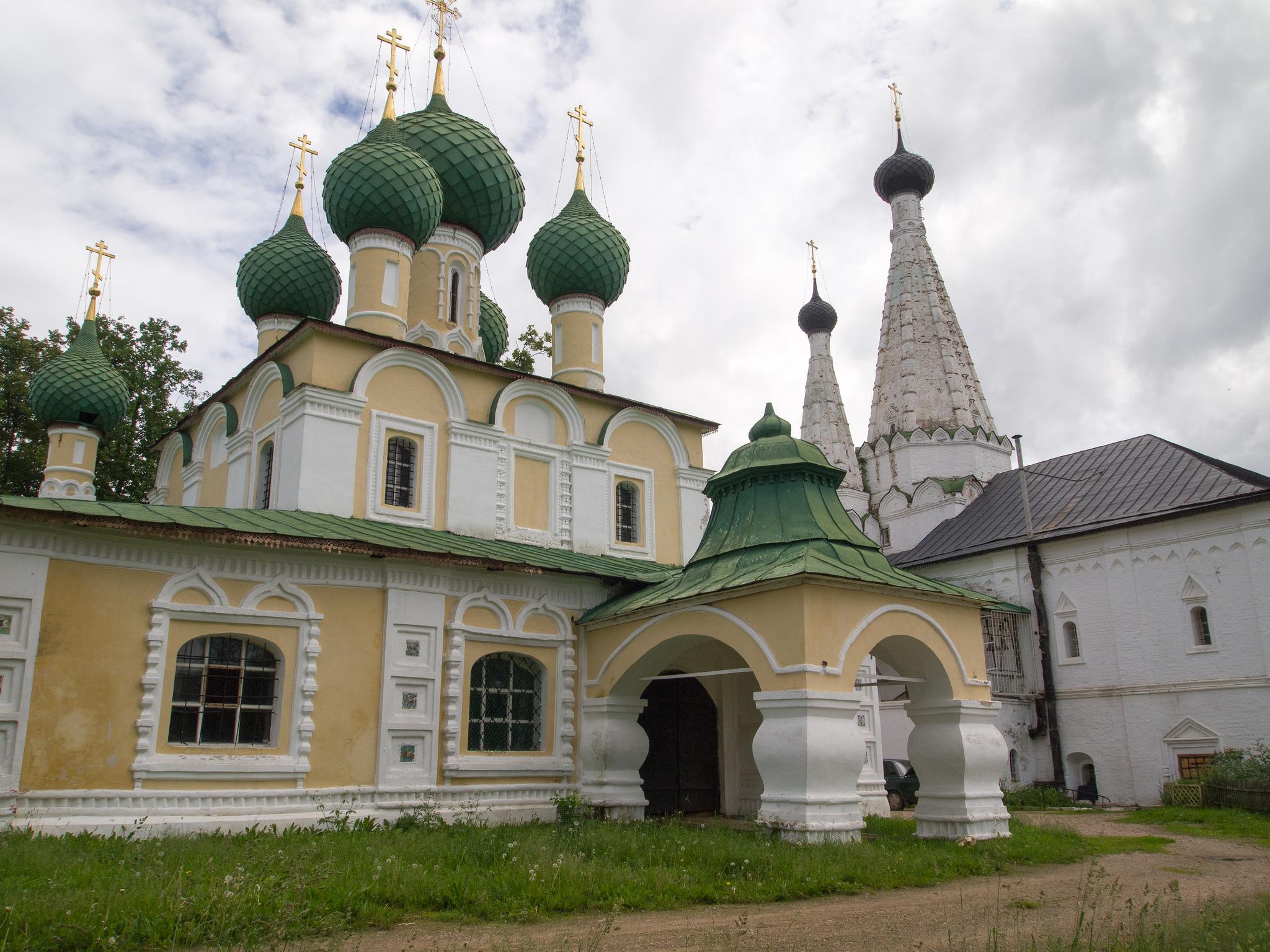 Предтеченский собор, Алексеевский монастырь в Угличе