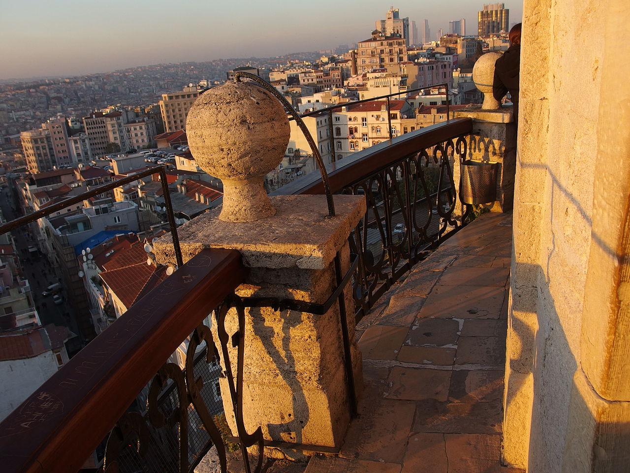 Галатская башня, смотровая площадка