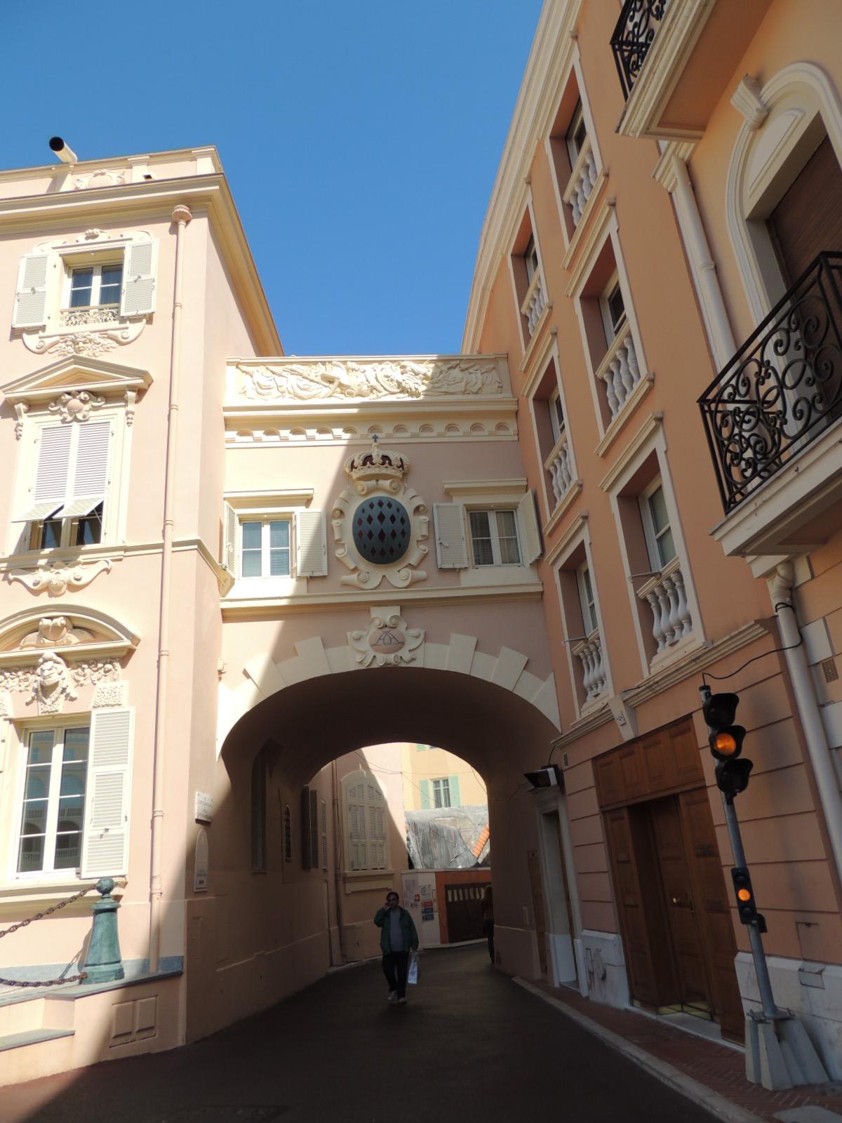 Княжеский дворец в Монако, фрагмент