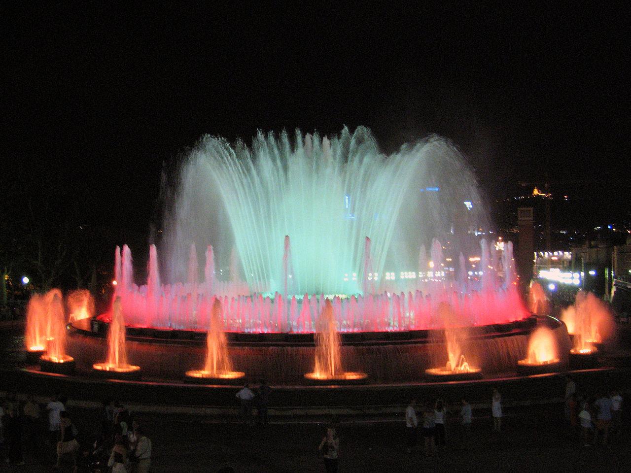 Магический фонтан на Монжуике