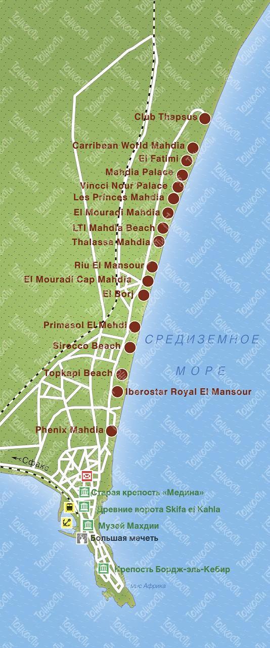 Что взять с собой в Тунис Арриво