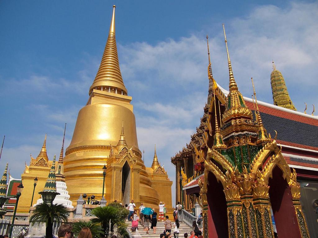 Храм Изумрудного Будды 1