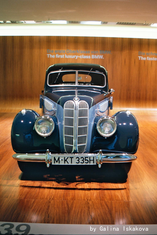 BMW 335, музей BMW
