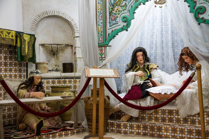 В Музее истории Хаммамета