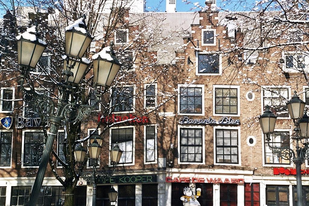 Здания на площади Лейдсеплейн