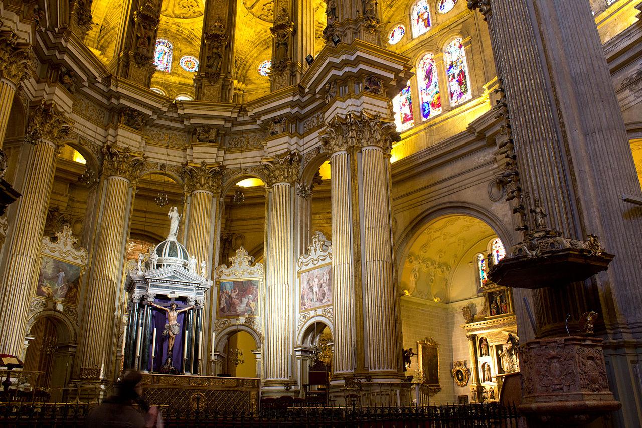 Кафедральный собор Малаги, интерьер