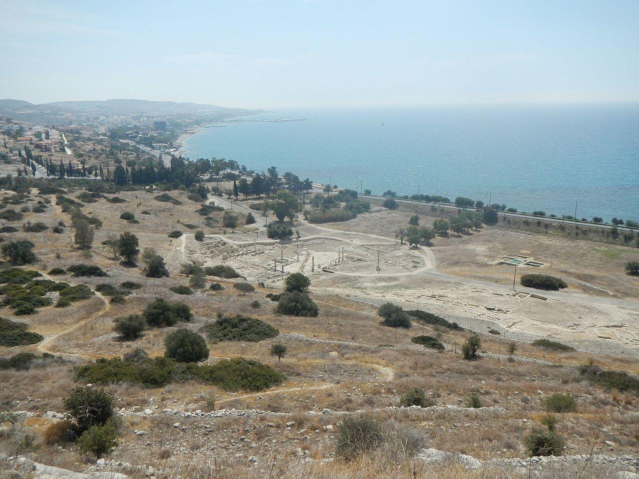 Панорама руин Аматуса