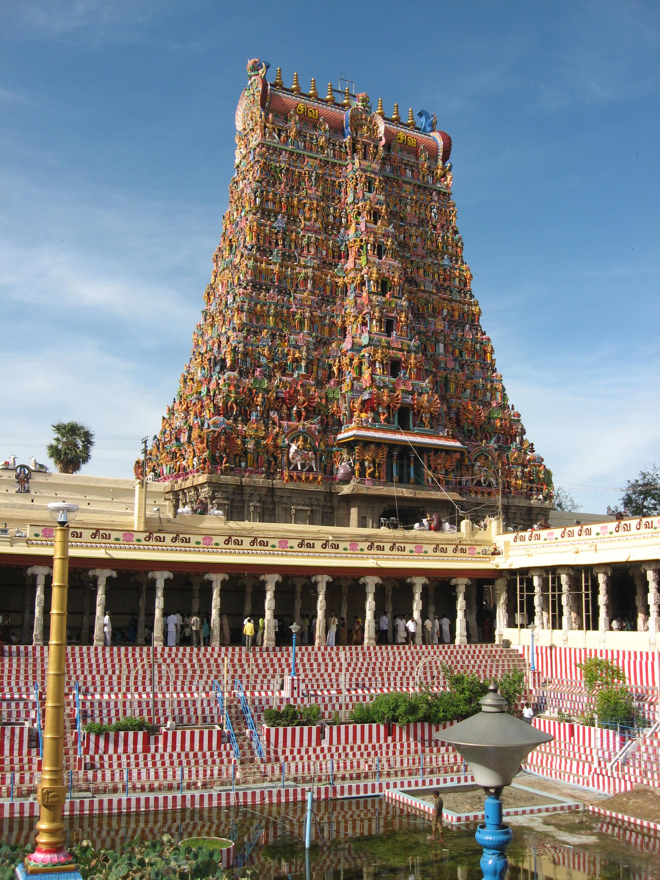 Потрясающий храм Минакши в Мадурае