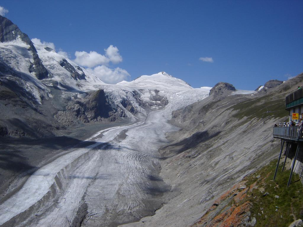 Австрийские Альпы, ледник Пастерце