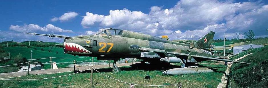 Агрессивный самолет, Музей авиации в Италии, Римини