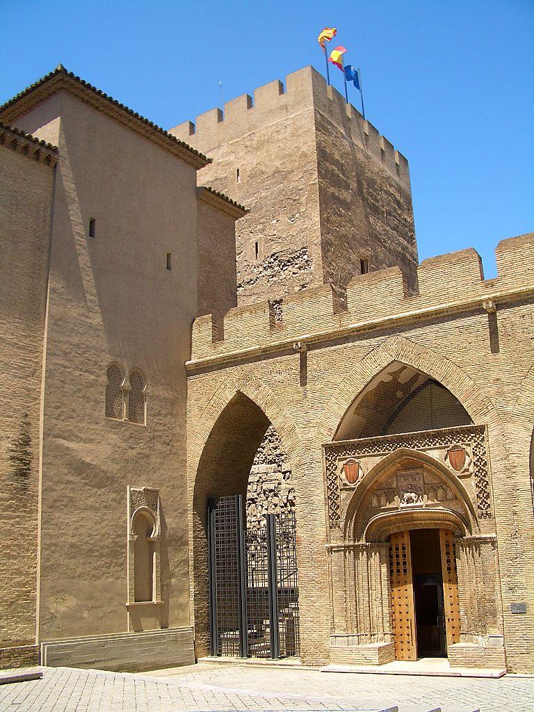 Альхаферия, башня Трубадура