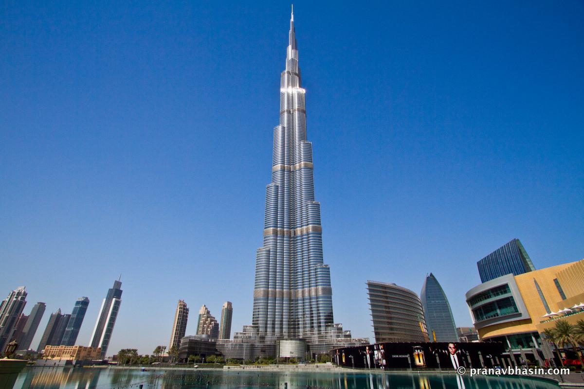 Дубай здание бурдж халифа недвижимость римини