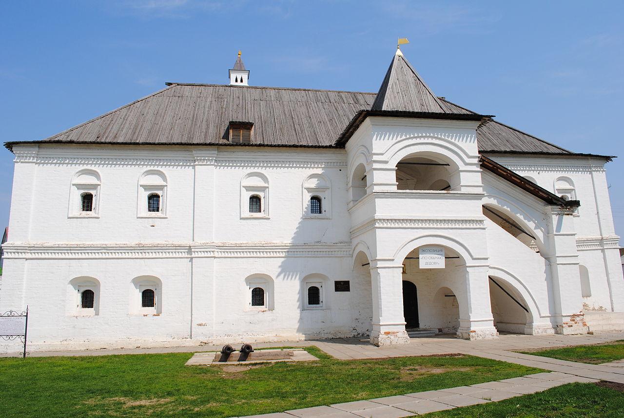 Рязанский кремль, дворец Олега