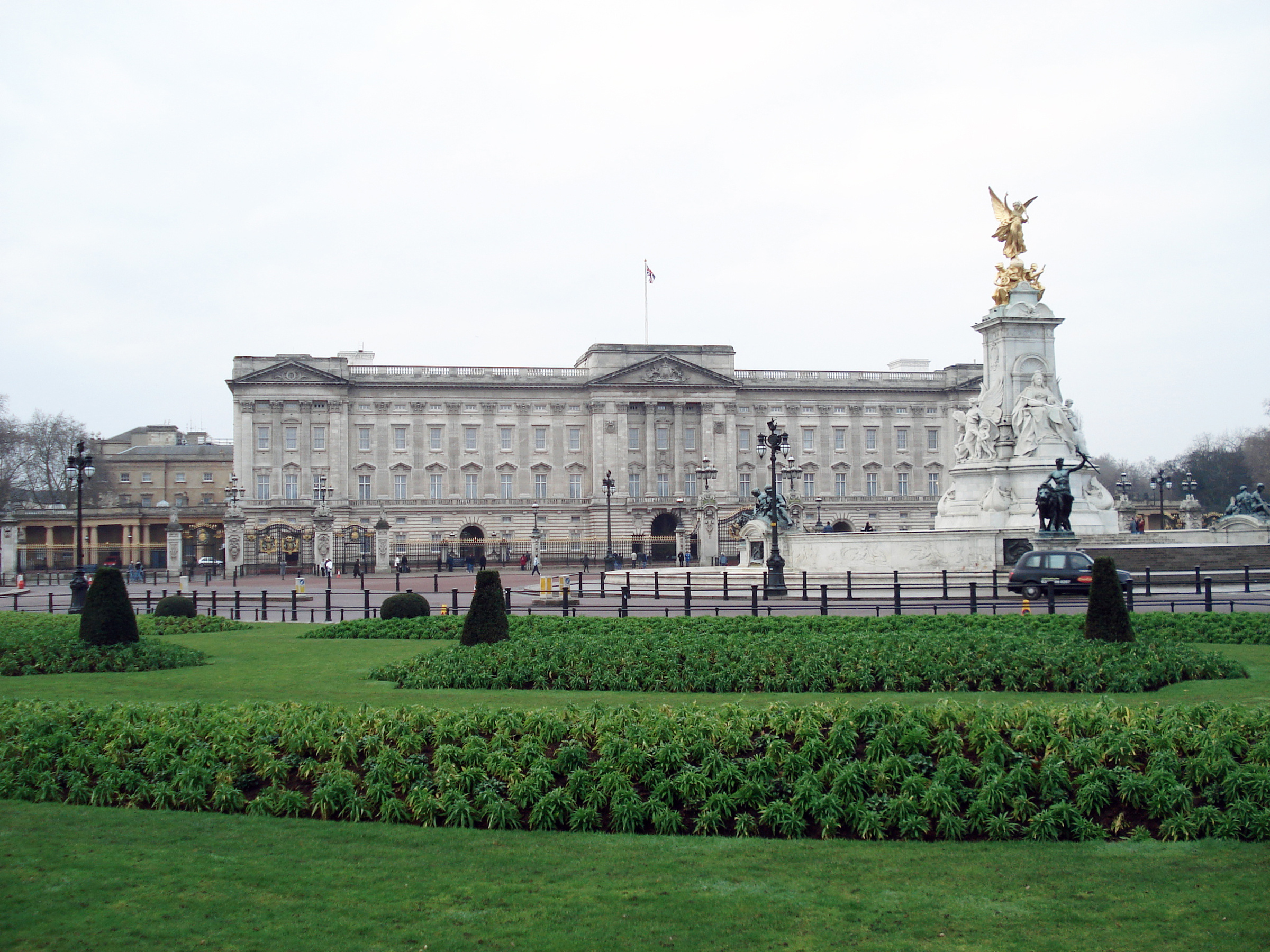Букингемский дворец, Лондон,