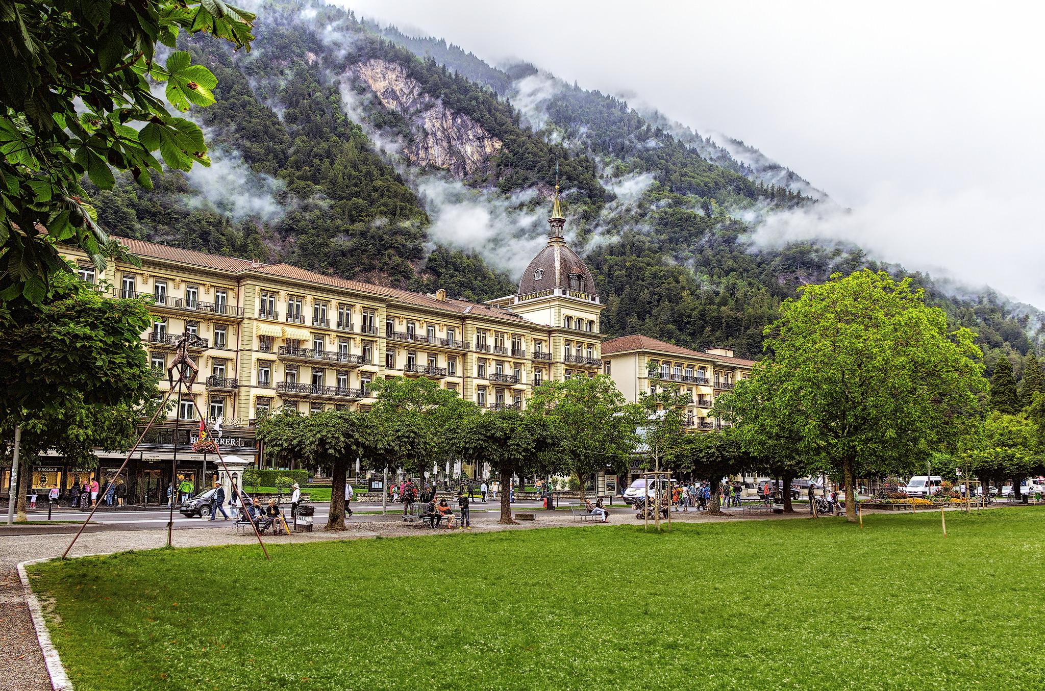 Интерлакен Interlaken Швейцария  путеводитель по