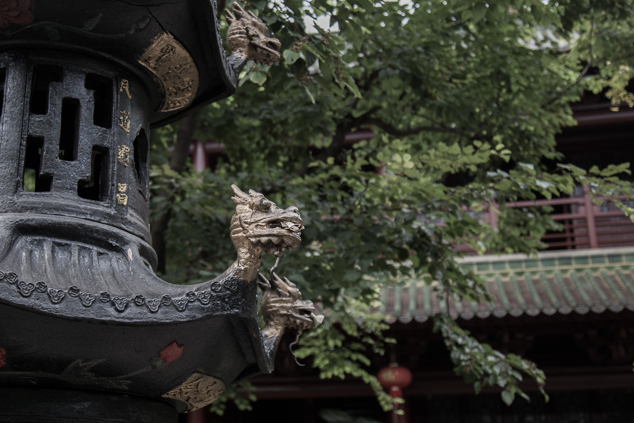 Лотосовая пагода, деталь