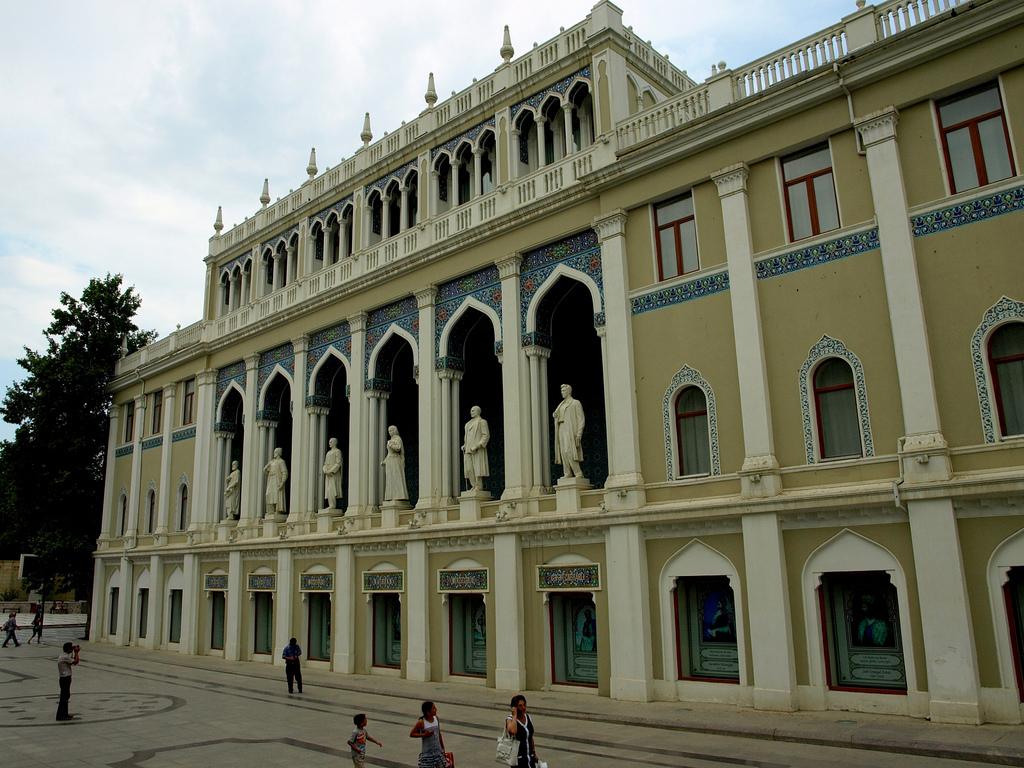 Музей азербайджанской литературы, Баку