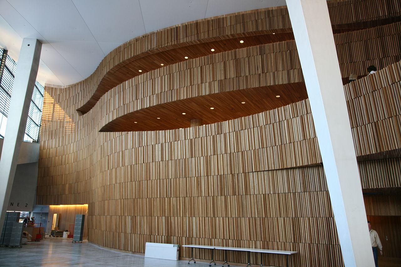 Оперный театр Осло, интерьер