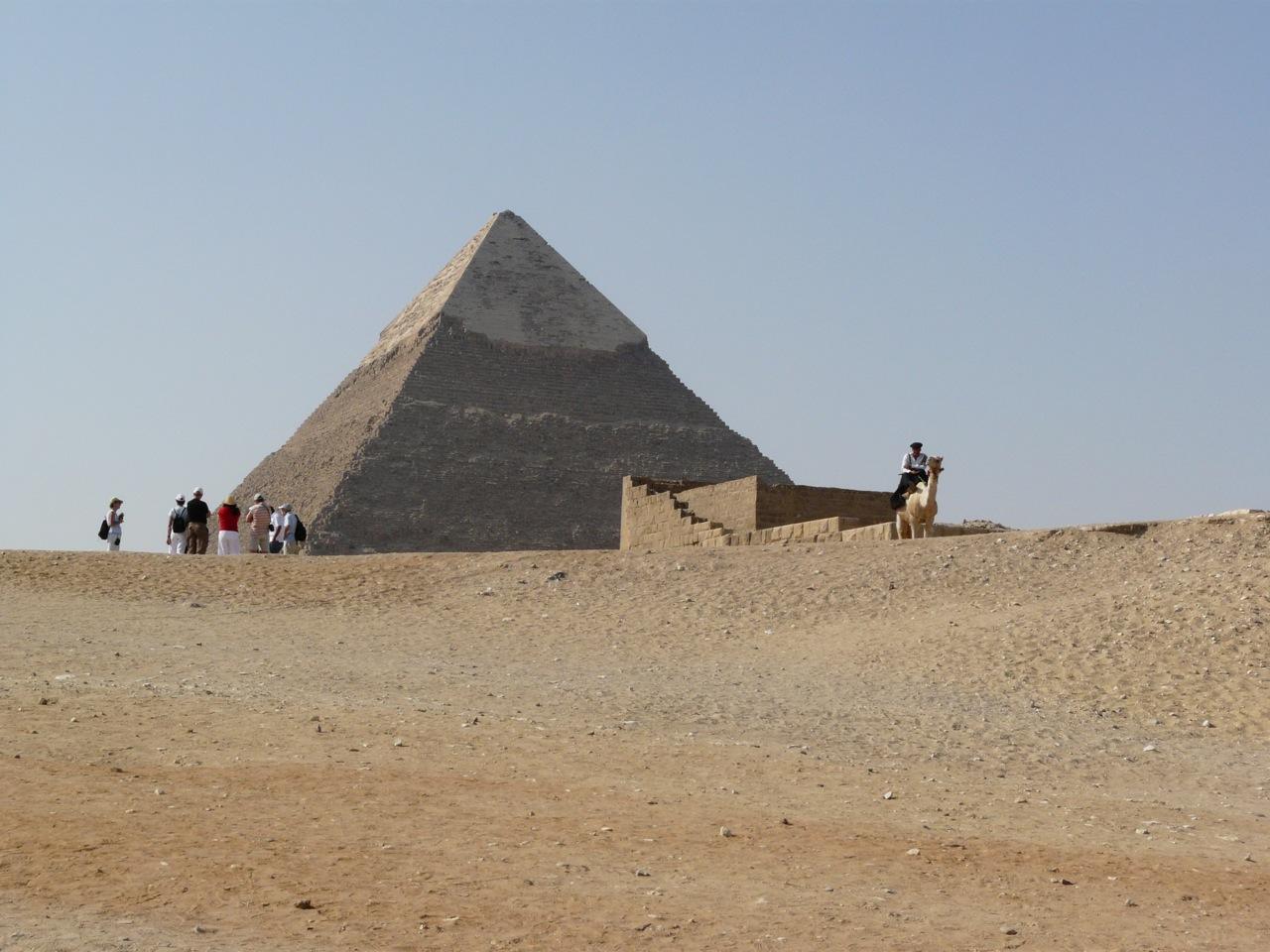 Площадь перед пирамидой Хефрена, Гиза