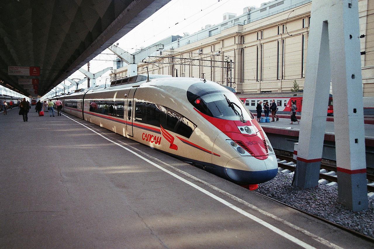 Скоростной электропоезд «Сапсан», Санкт-Петербург