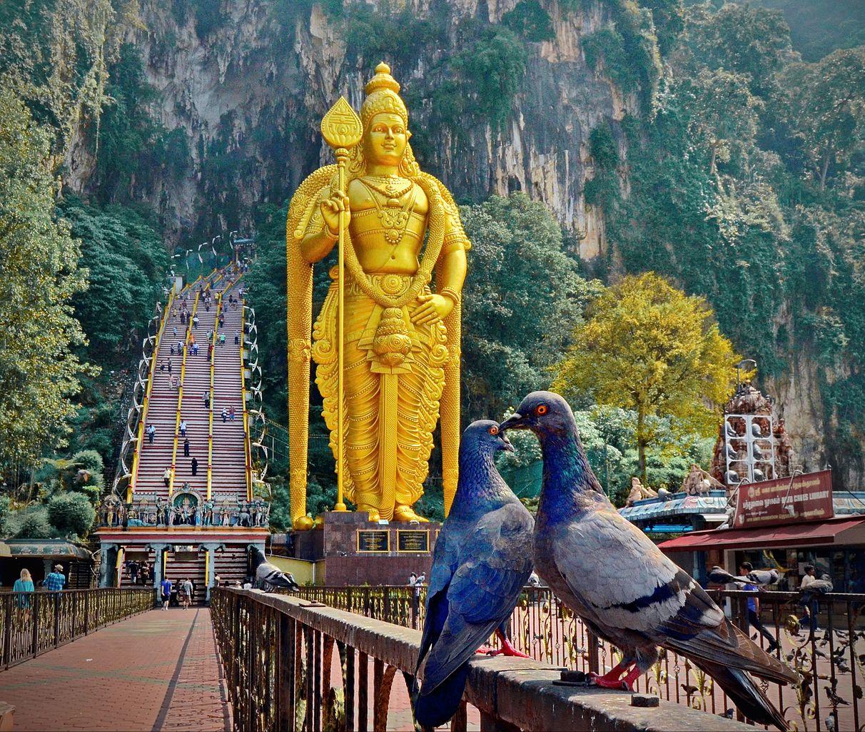 Пещеры Бату в Малайзии