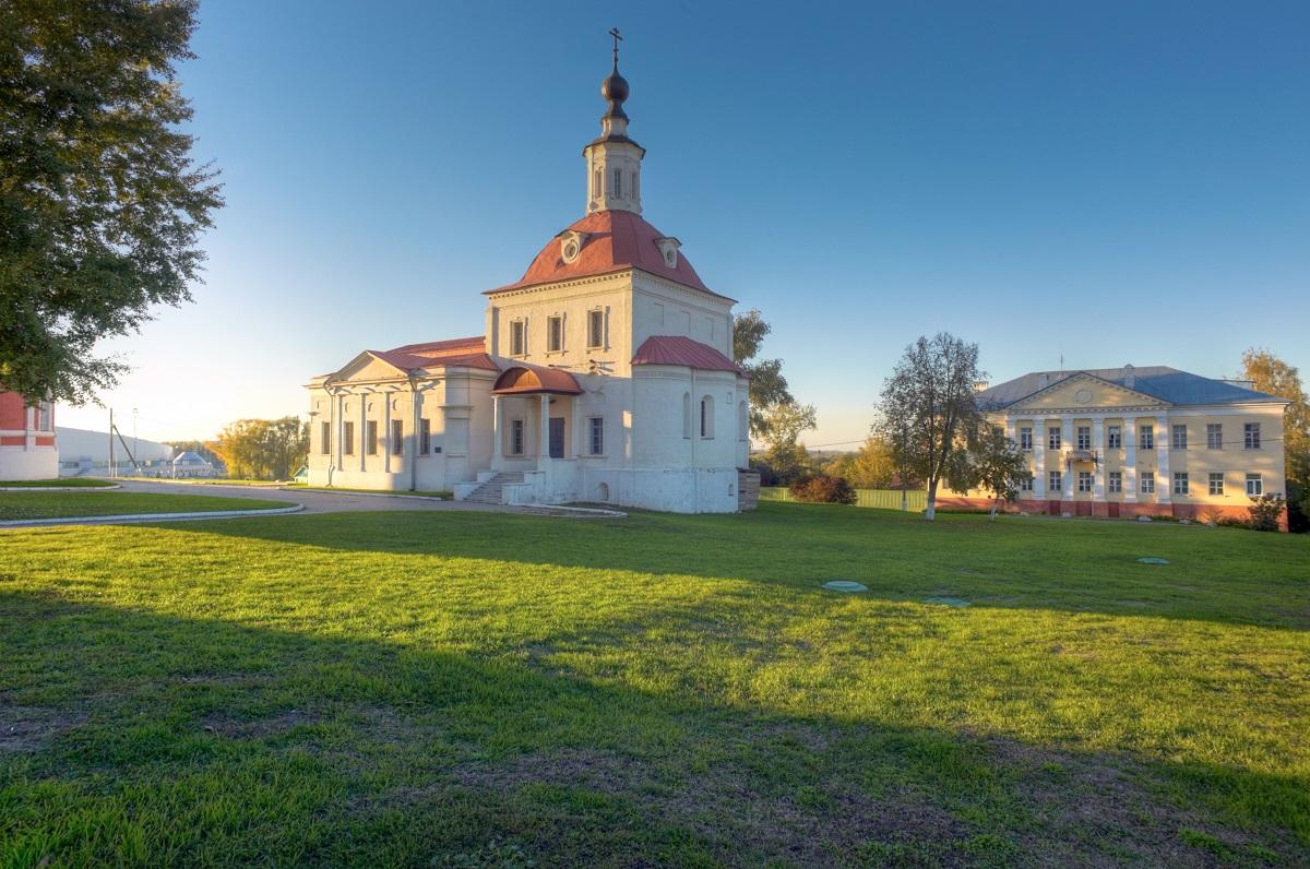 Храм Воскресения Словущего, Коломенский Кремль, Коломна