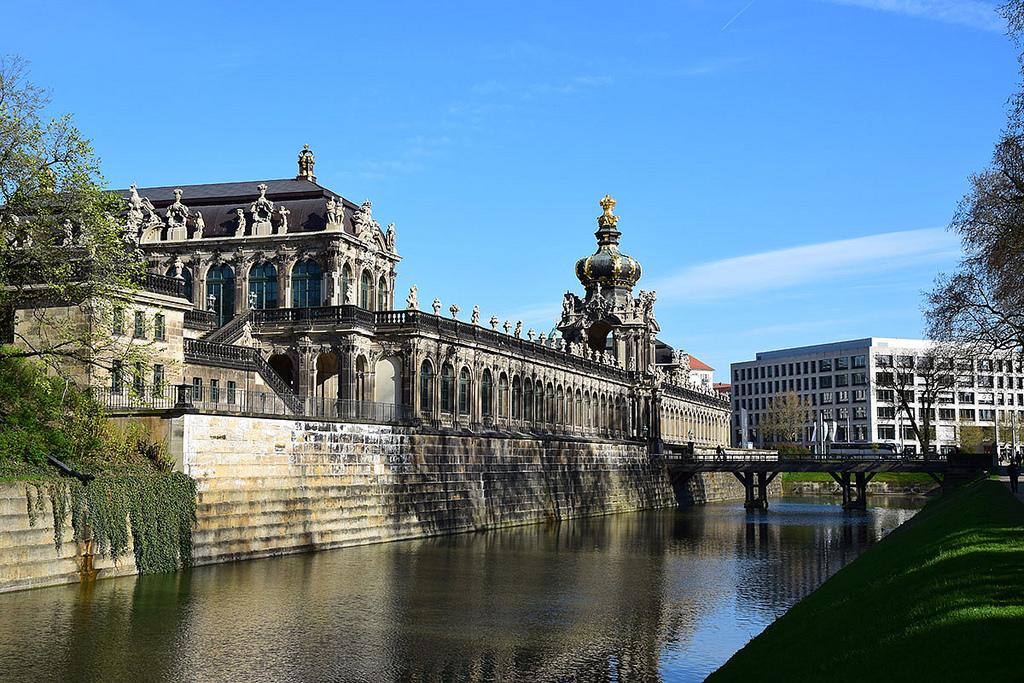 Вид на Цвингер, Дрезден