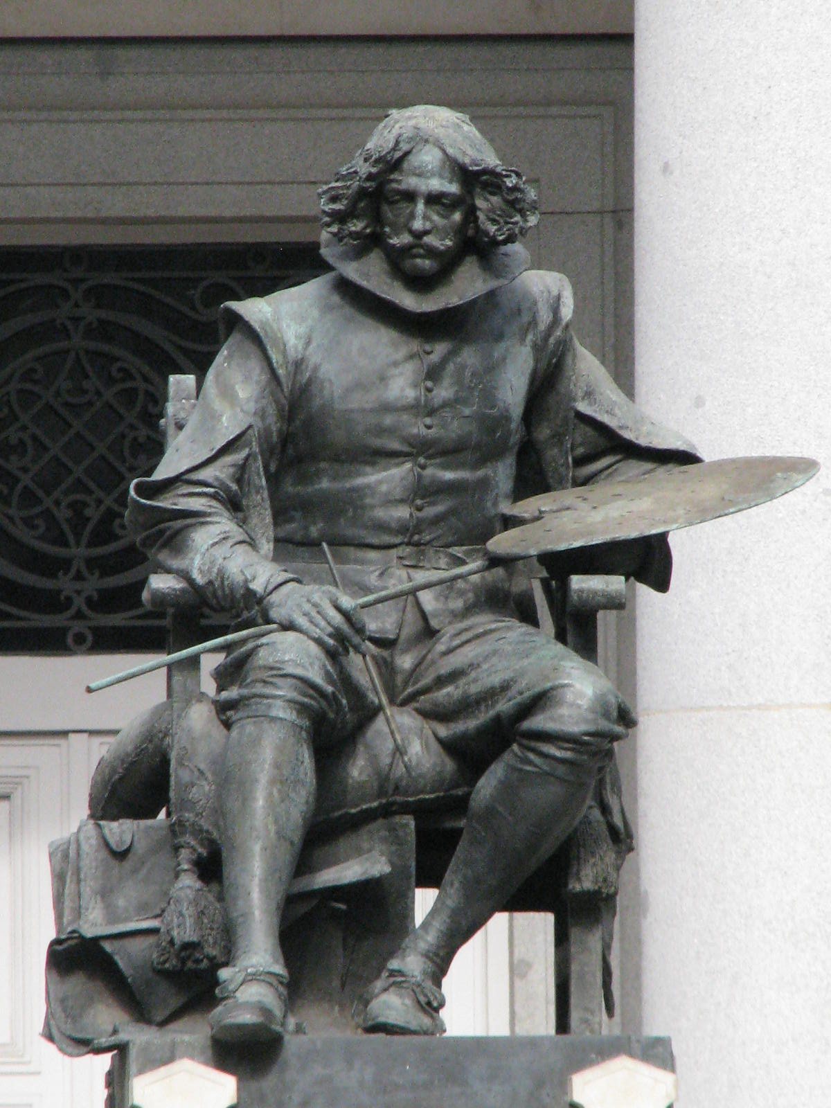 Дон Диего де Веласкес в музее Прадо, Мадрид