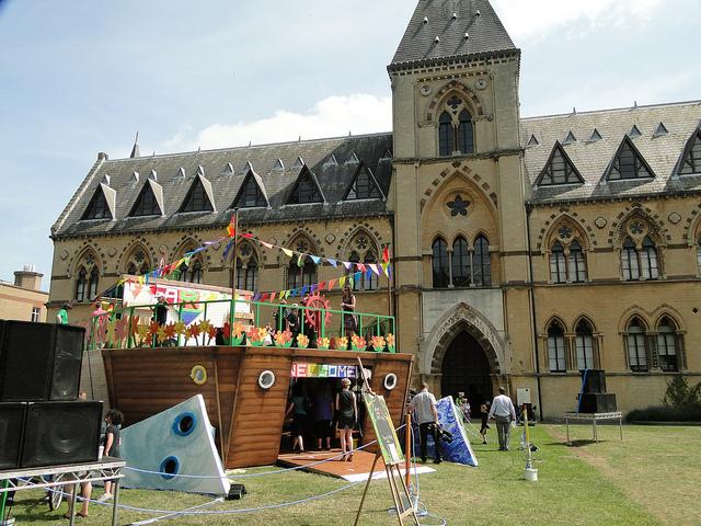 Фестиваль CIAO! Ark в Оксфорде